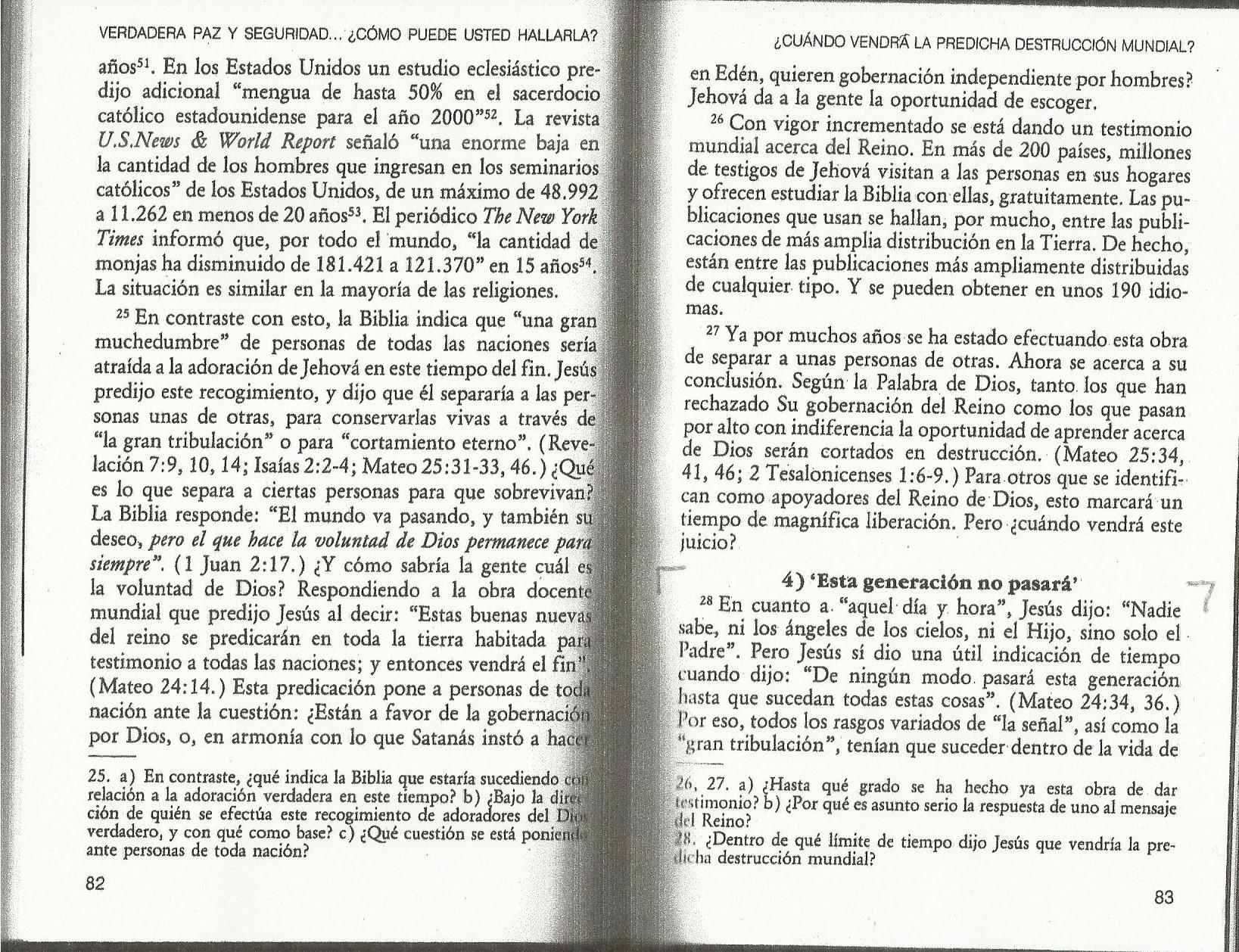 Generación Paz y seguridad pág 83, párr 28(a)